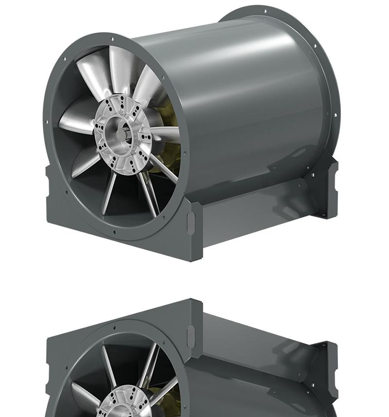 Adjustable Pitch Vane Axial Fan